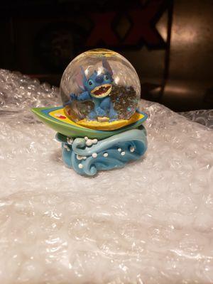 Disney stitch mini snowglobe for Sale in Crest Hill, IL