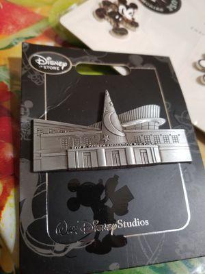 Walt Disney Studios Roy Disney Animation Building Pin Exclusive Pewter New for Sale in Houston, TX
