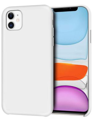 iPhone 11 Case, Anti-Slip Liquid Silicone Gel Rubber Bumper Case with Soft Microfiber Lining Cushion Slim Hard Shell Shockproof Protective Case Cover for Sale in Norco, CA