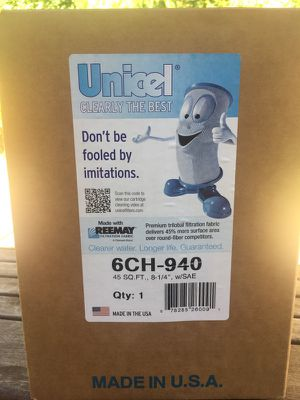NEW UNOPENED - Unicel Hot Tub Filter for Sale in Renton, WA