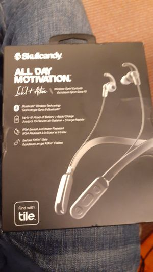 Skullcandy All Day Motivation Wireless Bluetooth Headphones for Sale in Glen Burnie, MD