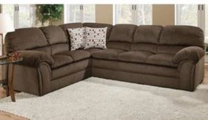 Brown Sectional couch for Sale in Modesto, CA