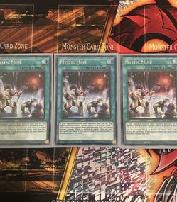 Mystic Mine (X3) (Yugioh) (Yu-Gi-Oh) for Sale in Houston,  TX