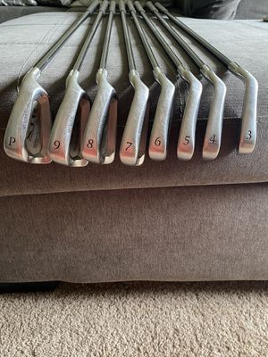 Golf Irons and Stand Bag for Sale in Costa Mesa, CA