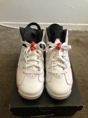 Jordan Retro 6 White Infrared for Sale in Downey, CA