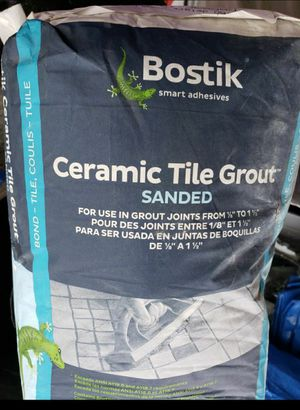 100 LBS. / Bostik Sanded Tile Grout for Sale in Tacoma, WA