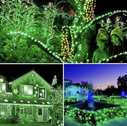 Solar Christmas Lights 72ft 200 LED 8 Modes Solar String Lights Waterproof Solar Fairy Lights for Garden, Patio, Fence, Balcony, Outdoors for Sale in Ontario,  CA