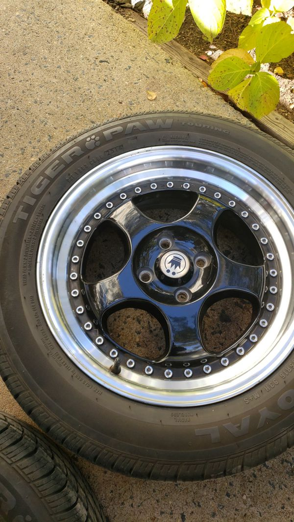 215/55/16 = rims and tires