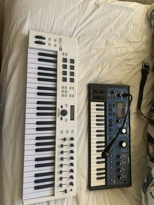 Analog Lab 49 key MIDI and MINI- Nova synth for Sale in Hillsboro, OR