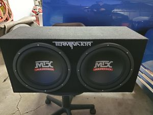 Mtx sound System for Sale in Whittier, CA