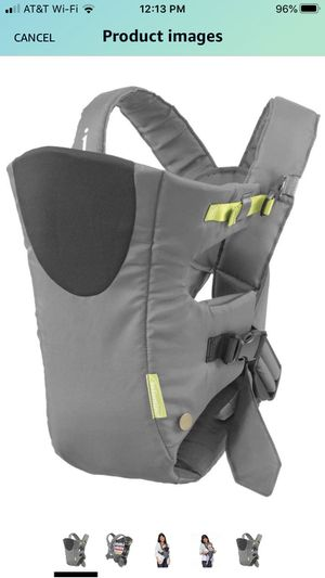 Infantino Baby carrier (ct 2) - grey and black colors for Sale in McKinney, TX