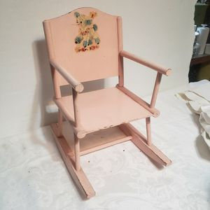 Pretty Vintage Rocking Chair Doll Or Young Child for Sale in Orlando, FL