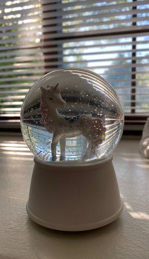 Unicorn glass ball for Sale in Novi, MI