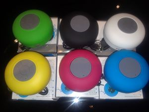 WATERPROOF BLUETOOTH SHOWER SUCTION SPEAKERS for Sale in Silver Spring, MD