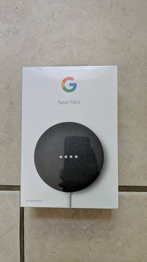Brand New Google Nest Mini - 2nd gen for Sale in Greensburg, PA