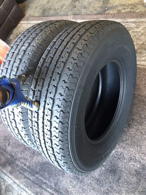 225/75/15 trailer tires for Sale in Riverside, CA