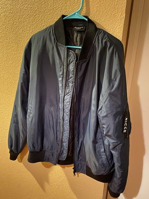 Nicce Navy Bomber Jacket for Sale in Fremont, CA