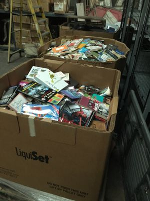 Gaylord's full of mixed books only $100 each great for amazon sellers for Sale in Garland, TX