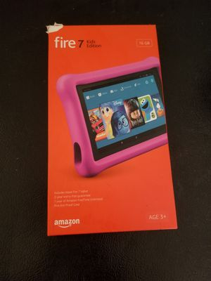 Amazon Fire 7 Kids Edition 16GB Tablet for Sale in Bronx, NY