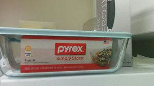 Pyrex glass storage 11 cup for Sale in Raleigh, NC