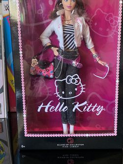 Hello Kitty Barbie Collectors Doll Pink Label Brand New In Box for Sale in Pomona,  CA