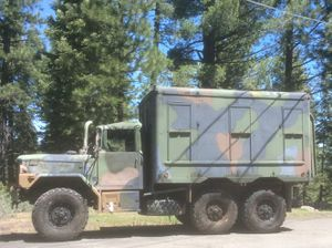 1993 AG 6X6 Camper Conversion - $12900 for Sale in NORTHSTAR, CA