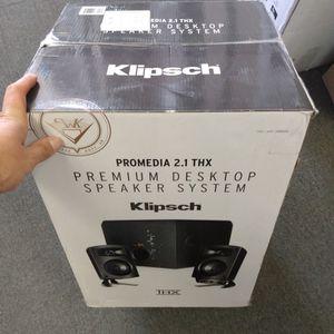 Klipsch Promedia Premium Desktop Speaker System for Sale in Vista, CA