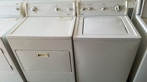 HEAVY DUTY KENMORE WASHER AND ELECTRIC DRYER 30 DAYS WARRANTY for Sale in Columbus, OH