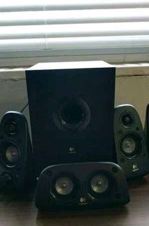 Logitech Z506 Surround Sound Home Theater Speaker for Sale in Washington, DC