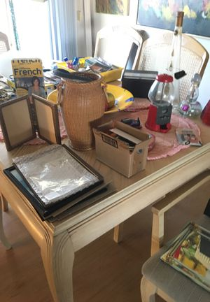 Huge sale indoor and outdoor at 7213 Blizzard Ln. 89145 antiques collectibles furniture freezer moving sale for Sale in Las Vegas, NV