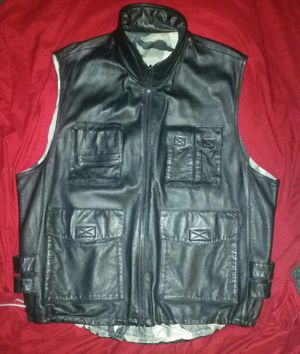 Men's leather motorcycle jacket for Sale in Ottumwa, IA