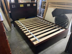 Beautiful storage bedframe for Sale in Vallejo, CA
