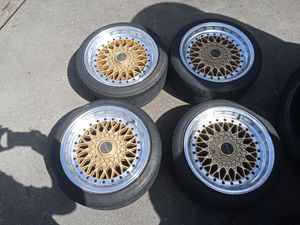 205/40r16 with nice trak lite rims great shape for Sale in Fort Myers, FL