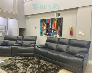 <!> $1699 Black Sofa set with Love seat / {Financing Available} for Sale in Doral,  FL