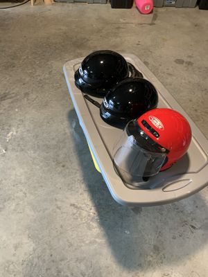 2 Motorcycle helmets for Sale in Bellevue, WI