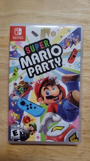 Super Mario Party Nintendo Switch for Sale in Castroville, CA