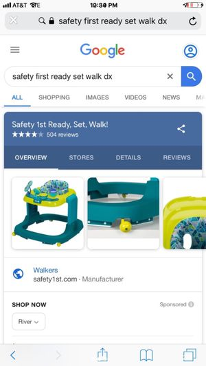Safety first walker new for Sale in Indianapolis, IN