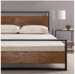 Twin size bed frame with mattress for Sale in Las Vegas, NV