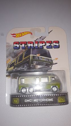Hot Wheels STRIPES GMC Motorhome for Sale in Dallas,  TX