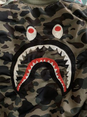 BAPE M8a1 bomber jacket rare limited negotiable for Sale in San Antonio, TX