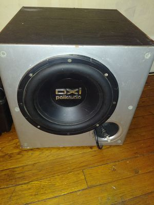 Polk Audio subwoofer powered for Sale in Chelsea, MA