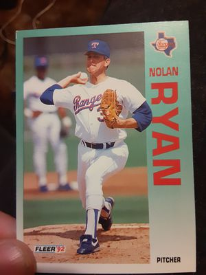 Nolan Ryan 1992 card for Sale in Tamaqua, PA