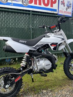 Brand new 2021 SSR 110 pit bike kids dirtbike Pitbike for Sale in Joint Base Lewis-McChord,  WA