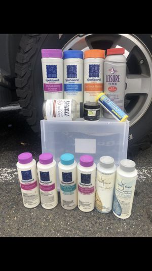 Hot tub cleaning chemicals for Sale in Portland, OR