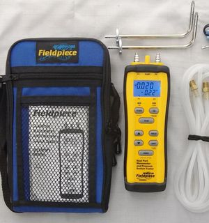 Fieldpiece Dual Port Manometer & Pressure Switch Tester Kit for Sale in Federal Way, WA