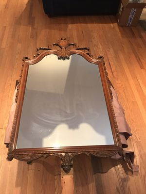 Vintage Mirror with wooden frame for Sale in Arlington, VA