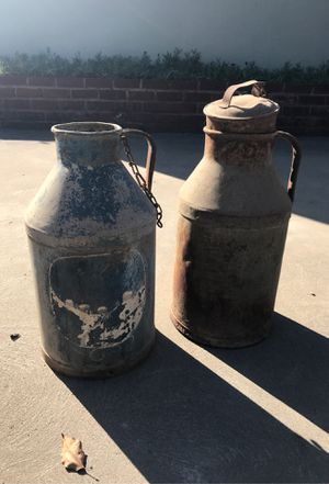 Vintage milk cans for Sale in Fresno, CA