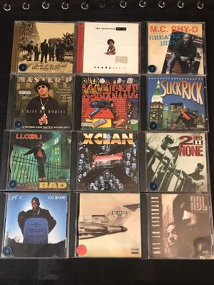 Rap music CD collection for Sale in Tustin, CA