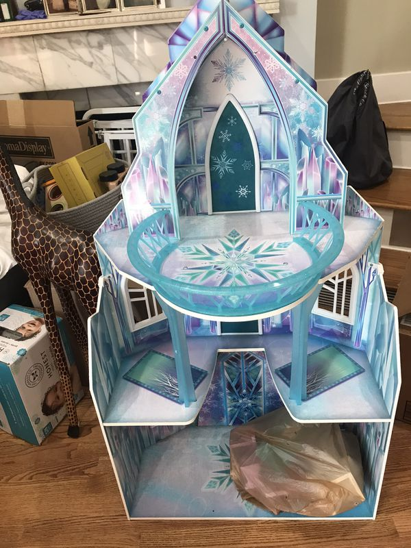 Frozen dollhouse Elsa's castle