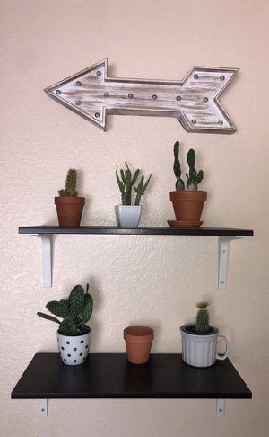 Wall shelves with screws for Sale in Rancho Cucamonga, CA